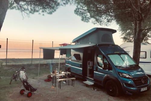 Wohnmobil mieten in München von privat | Hymer, Fiat Ducato Knut