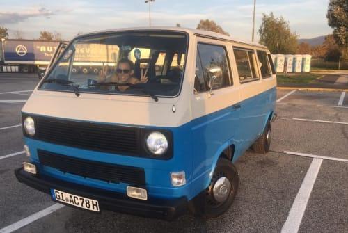 Wohnmobil mieten in Gießen von privat | VW Schlumpfi