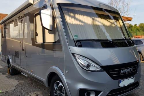 Wohnmobil mieten in Essen von privat | Hymer Hymer EX 678