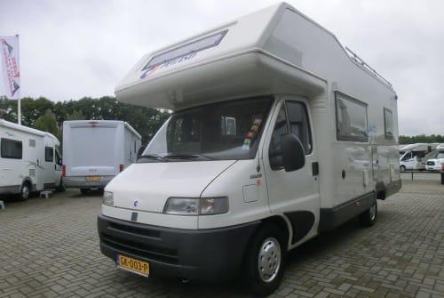 Wohnmobil mieten in Zwolle von privat | Fiat Familie camper