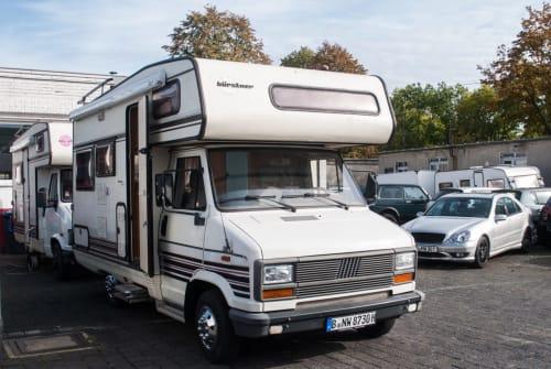 Wohnmobil mieten in Berlin von privat   FIAT Baroness Jetti