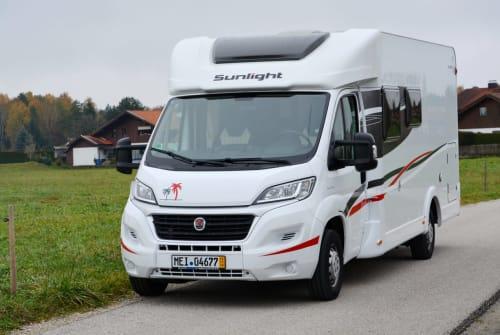 Wohnmobil mieten in Bernau am Chiemsee von privat | Sunlight ChiemseeSonne