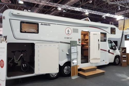 Wohnmobil mieten in Wuppertal von privat | Dethleffs Dicker