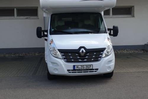 Wohnmobil mieten in München von privat | Renault Master, Canada Ad  BUCO