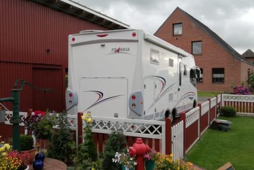 Wohnmobil mieten in Helse von privat | Frankia Horst Claußen