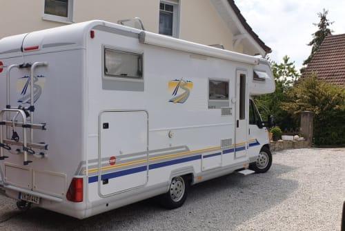 Wohnmobil mieten in Bad Sobernheim von privat | Bürstner Dicker :-)