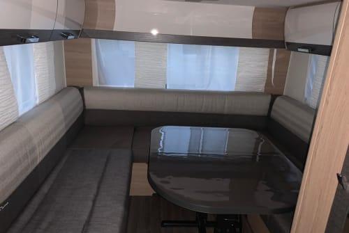 Wohnmobil mieten in Eppelborn von privat | Bürstner Berti