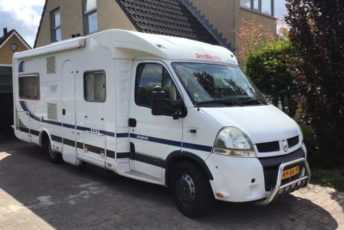 Wohnmobil mieten in Hoogeveen von privat   Dethleffs esprit rt Dinges