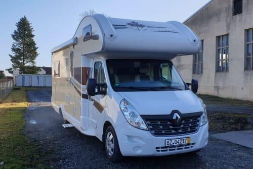 Wohnmobil mieten in Ohorn von privat | Renault, Ahorn  Flotte Lotte