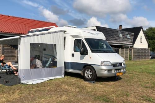 Wohnmobil mieten in Breezand von privat | Hobby Hobby 600