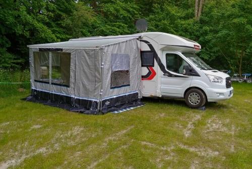 Wohnmobil mieten in Duisburg von privat | Challenger Schnecke Neu*