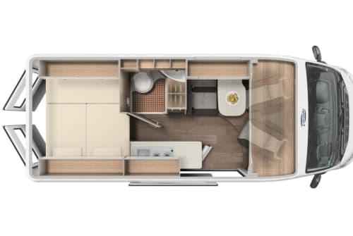 Wohnmobil mieten in Stuttgart von privat | Carado Andi
