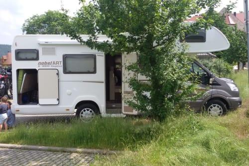 Wohnmobil mieten in Rackwitz von privat | Ford Transit Familiencamper