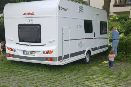 Wohnmobil mieten in Esslingen am Neckar von privat | Dethleffs  Wohnie