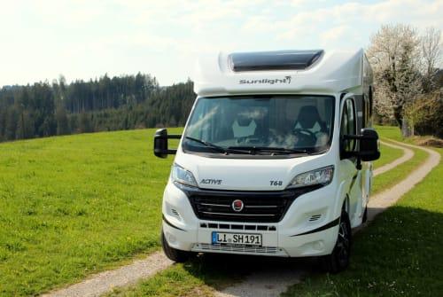 Wohnmobil mieten in Stiefenhofen von privat | Sunlight Samarico