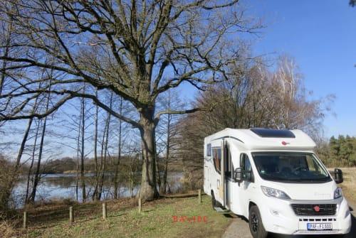 Wohnmobil mieten in Pörnbach von privat | Bürstner HomeOfficeMobil