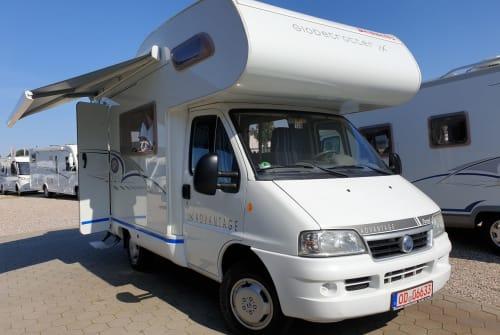 Wohnmobil mieten in Bardowick von privat | Fiat Dethleffs Advantage Purzel