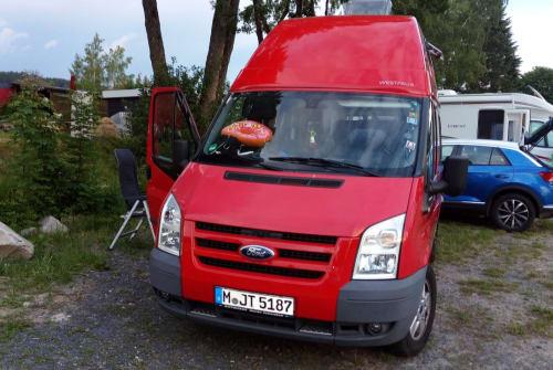Wohnmobil mieten in München von privat   Ford Nugget Lissy5