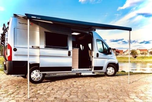 Wohnmobil mieten in Dresden von privat | Sunlight Van Cliff 600 Cliff-Adventure