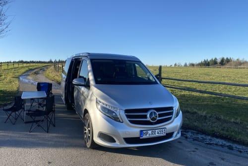 Wohnmobil mieten in Oberzent von privat | Mercedes Benz DerOdenwaldBus