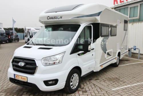 Wohnmobil mieten in Teisendorf von privat | Chausson CK two