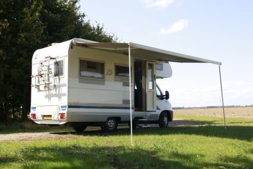 Wohnmobil mieten in Meeden von privat | Dethleff Alkoof camper