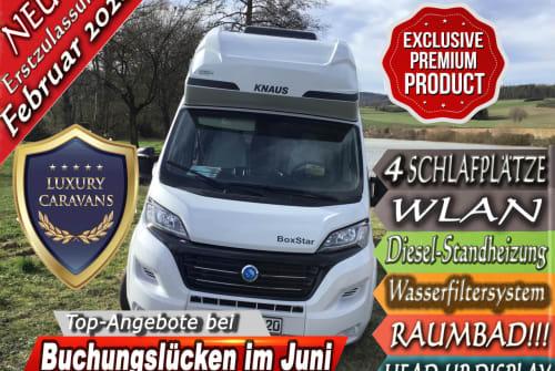 Wohnmobil mieten in Witzenhausen von privat | Knaus LL20
