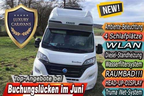 Wohnmobil mieten in Witzenhausen von privat   Knaus LL20