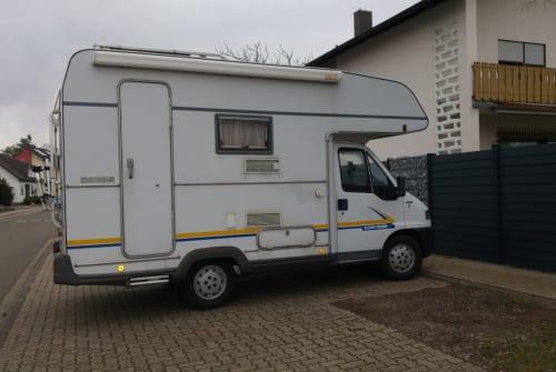 Wohnmobil mieten in Ubstadt-Weiher von privat | Eura Mobil WoMo Willi