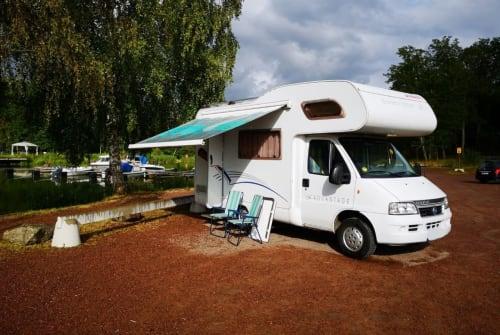 Wohnmobil mieten in Berlin von privat | Fiat Dethleff