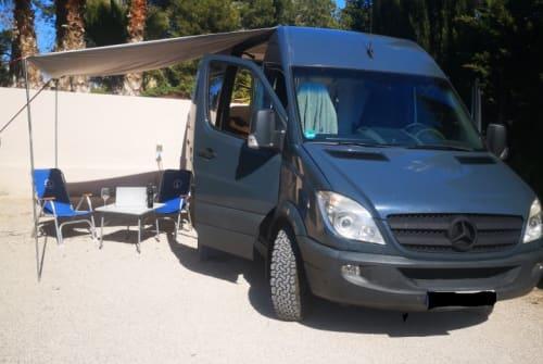 Wohnmobil mieten in Faro von privat   Mercedes Benz BlueBird
