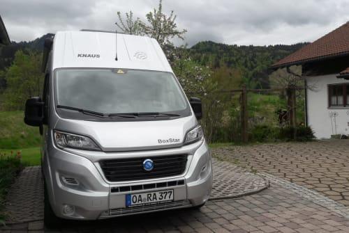 Wohnmobil mieten in Oberstaufen von privat | Knaus Maikäferchen