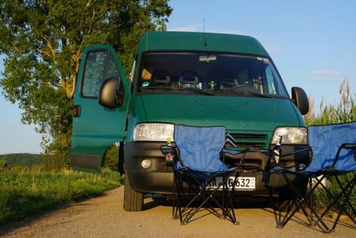 Wohnmobil mieten in Karlsruhe von privat | Citroen Frog