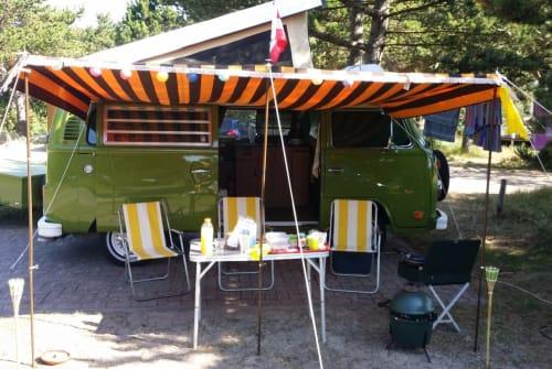 Wohnmobil mieten in Leiden von privat | Volkswagen Green Westy  T2