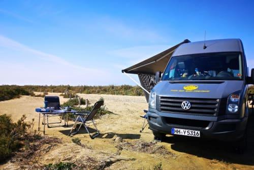 Wohnmobil mieten in Hamburg von privat | VW  Entdecker Fin