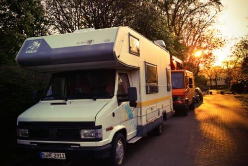Wohnmobil mieten in Berlin von privat | Knaus Knausi