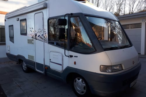 Wohnmobil mieten in Freilassing von privat | Fiat Bürschtl