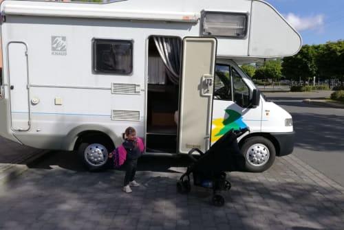 Wohnmobil mieten in Köln von privat   Knaus Knuffi