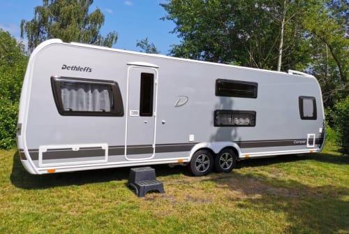 Wohnmobil mieten in Bielefeld von privat   Dethleffs Big Famy