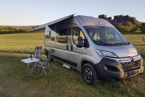 Wohnmobil mieten in Halberstadt von privat | Citroën Jumper Pössl 2 Win Plus WOMO  PÖSSL
