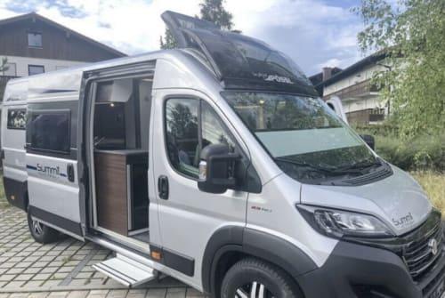 Wohnmobil mieten in Hannover von privat | Pössl Summit  Baby Campy