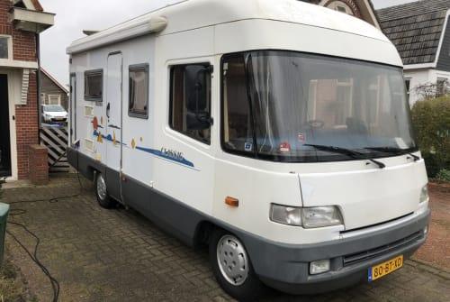Wohnmobil mieten in gemeente Groningen von privat | FFB 580 Never to old