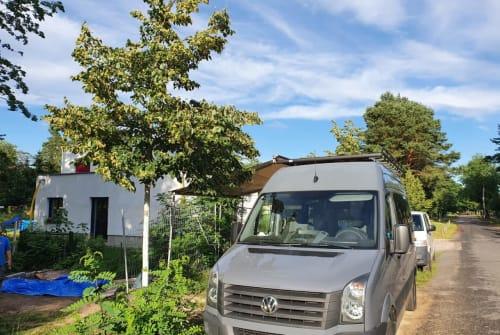 Wohnmobil mieten in Berlin von privat | VW Tagschatten