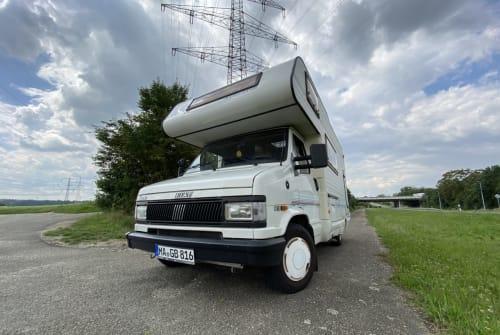 Wohnmobil mieten in Mannheim von privat | Fiat Campi