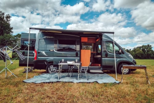 Wohnmobil mieten in Haunetal von privat | Pössel Autarkmobil