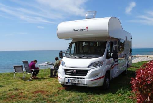 Wohnmobil mieten in Neufahrn bei Freising von privat | Sunlight Bob