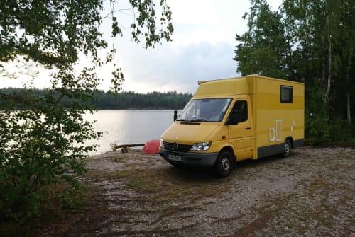 Wohnmobil mieten in Unterschleißheim von privat   Sprinter Banana Joe