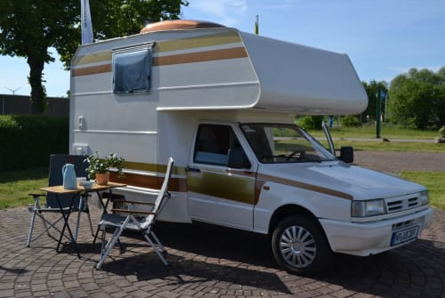 Wohnmobil mieten in Osterburg von privat | Fiat Fiorino Ursel