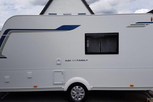 Wohnmobil mieten in Oer-Erkenschwick von privat | Caravelair Winni