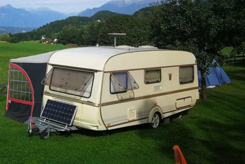 Wohnmobil mieten in Hof bei Salzburg von privat | Tabbert Dicke Berta